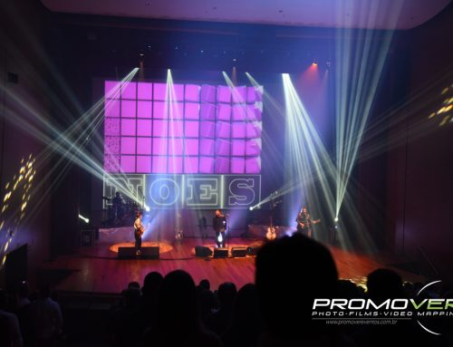 Bee Gees One Tribute Band – Projeção Mapeada